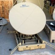 AVL 1.0 Meter Auto Acquisition Case based SNG Antenna
