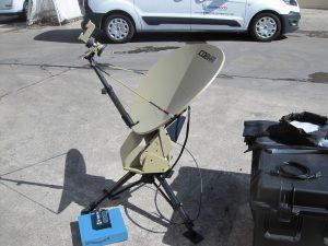 AVL-Cobham .75m Ku-Band Fly Away Antenna