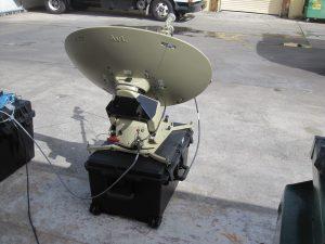 AVL TracStar .75 cm Ku-Band Auto Acquire Flyaway Antenna