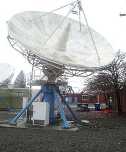 High Gain 6.4M Ku-Band Tx-Rx Linear Feed Motorized Earth Station Antenna