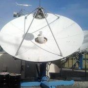Used Vertex 4.5M Ku-Band Tx/Rx Linear Feed Motorized Antenna