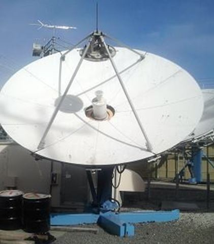 Used Vertex 4.5M Ku-Band Tx/Rx Linear Feed Motorized Antenna
