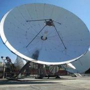 Used Vertex 13 Meter C-Band 4-Port Tx/Rx Circular Feed Motorized Earth Station Antenna