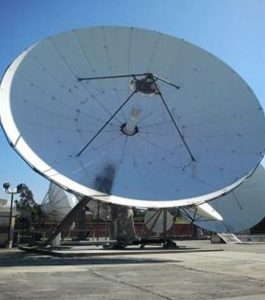 Used Vertex 13 Meter C-Band 4-Port Tx/Rx Circular Feed Motorized Earth Station Antenna