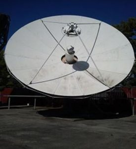 Used Vertex 7.2M C-Band 4-Port Tx/Rx Linear Feed Motorized Earth Station Antenna