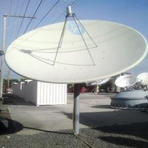 Used DH 3.5M 2-Port C-Band Receive Only Antenna