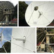 Vertex 9.0M Ku-Band 2-Port Tx-/Rx Linear Feed Motorized Earth Station Antenna
