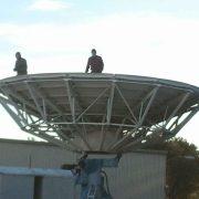Vertex 8.1M 2-Port Ku-Band Motorized Earth Station Antenna