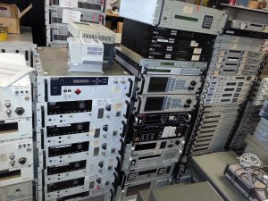 World's Largest Stock of Used Satellite Equipment