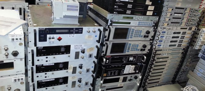 Close-Out Teleport, Huge inventory of Used Satellite Communication Equipment for sale